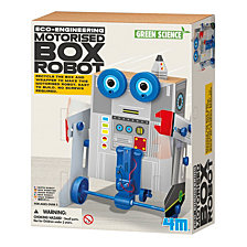 4M Green Science Eco Engineering Motorized Box Robot