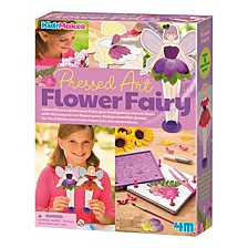 Kidzmaker Pressed Art Flower Fairy