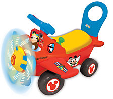 Kiddieland Disney Mickey Mouse Clubhouse Plane Light And Sound Activity Ride On
