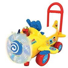 Sesame Street Elmos Plane Light And Sound Activity Ride On