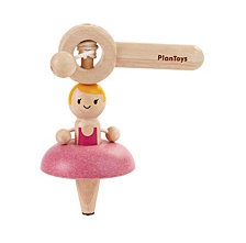 Plantoys Wooden Ballet Spinning Top