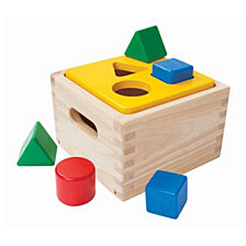 Plantoys Shape And Sort It Out Learning Toy