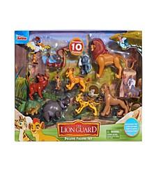 Lion Guard Deluxe 10 Piece Figure Set - Includes Lion Guard Classic Figures