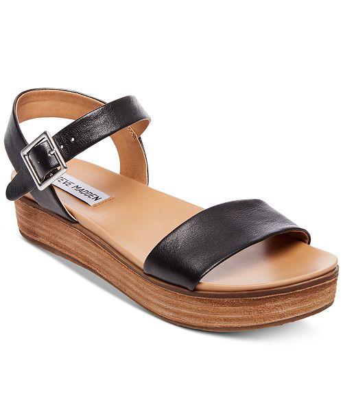 f3ec1531958d Steve Madden Aida Flatform Sandals   Reviews - Sandals   Flip ...