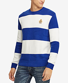 Polo Ralph Lauren Men's Striped Sweater, Created for Macy's