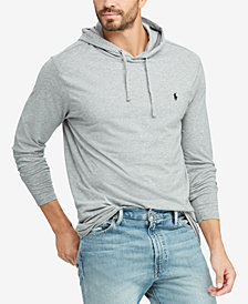 Polo Ralph Lauren Men's Big & Tall Cotton Long-Sleeve Hooded T-Shirt
