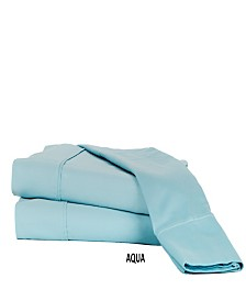 310 TC Solid Sateen Sheet Set Collection