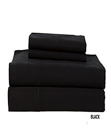 500 TC Solid Sateen King Sheet Set