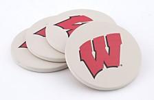 University of Wisconsin Thirstystone Coasters, Set of 4