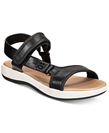 Giani Bernini Foyla Memory-Foam Platform Sandals, Created for Macy's