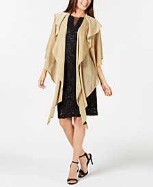 Cejon Double-Draped Sparkle-Knit Wrap, Created for Macy's