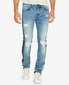 Buffalo David Bitton Men's ASH-X Slim-Fit Stripped  Jeans