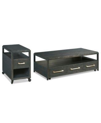Rowan Table Furniture, 2-Pc. Set (Coffee Table & Chairside Table)