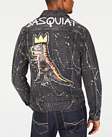 Sean John Men's Basquiat Pez Denim Jacket, Created for Macy's