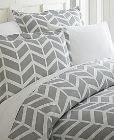 Home Collection Premium Ultra Soft Arrow Pattern 3 Piece Duvet Cover Set