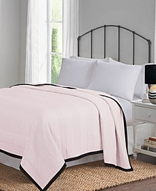 Hudson and Main Pre-Washed Microfiber Full/Queen Blanket