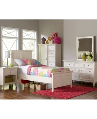 Sanibel Piece Full Bedroom Set Created For Macy S With Dresser
