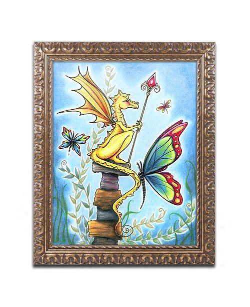 """Trademark Global Jennifer Nilsson Tiny Sentry Ornate Framed Art - 35"""" x 47"""" x 2"""""""