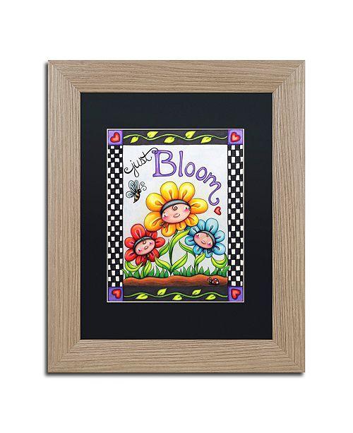 "Trademark Global Jennifer Nilsson Just Bloom Matted Framed Art - 16"" x 20"" x 0.5"""