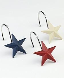Texas Star Shower Hooks