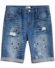 Epic Threads Big Boys Linden Denim Shorts, Created for Macy's