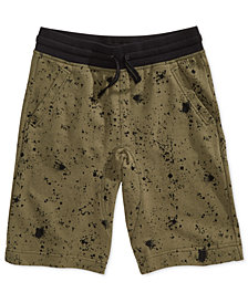 Epic Threads Big Boys Ink Splatter Shorts, Created for Macy's