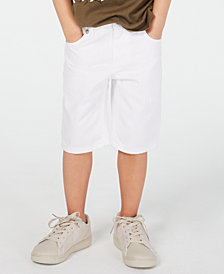 Epic Threads Toddler Boys White Denim Shorts, Created for Macy's