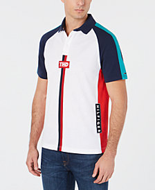 Tommy Hilfiger Denim Men's Omar Colorblocked Polo, Created for Macy's