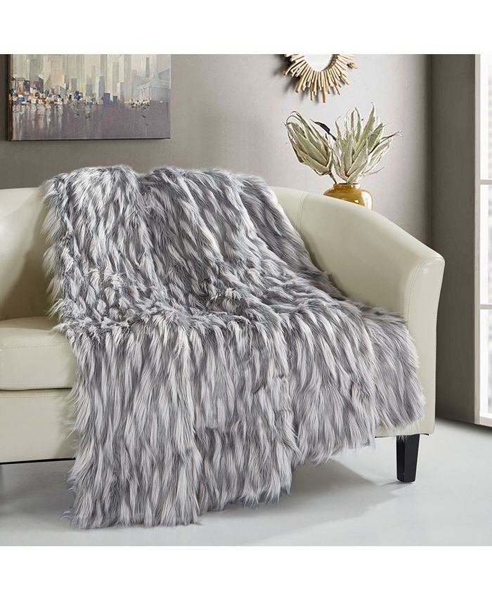 Chic Home - Aviva 1-Pc. 50 x 60 Throw Blanket