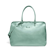 Lipault Miss Plume Weekend Bag Aqua Green