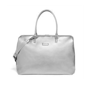 LIPAULT Miss Plume Weekend Bag in Titanium