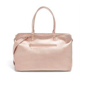 LIPAULT Miss Plume Weekend Bag in Pink Gold
