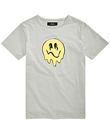 Big Boys Melty Face Graphic T-Shirt