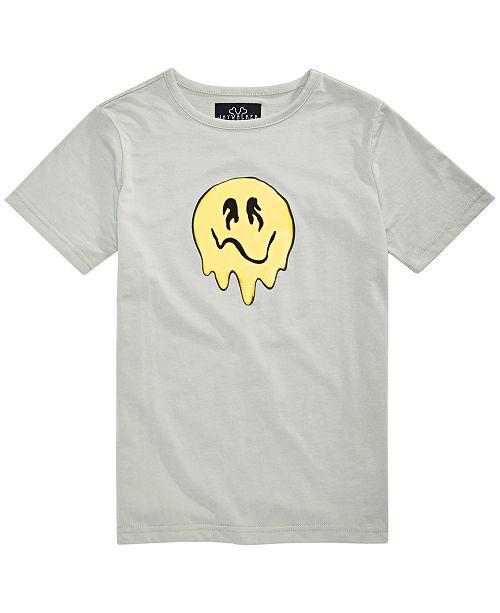 Jaywalker Big Boys Melty Face Graphic T-Shirt