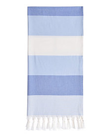 Linum Home Sea Waves Pestemal Beach Towel