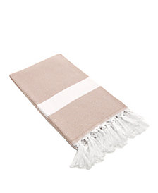 Linum Home Diamond Pestemal Beach Towel