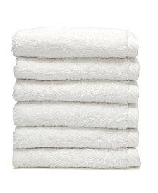Linum Home Soft Twist 6-Pc. Washcloth Set