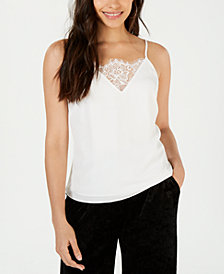 LEYDEN Adjustable Lace-Trim Camisole