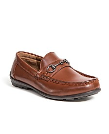 Deer Stags Little and Big Boys Latch Driving Moc Style Dress Comfort Loafer
