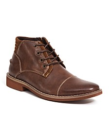Deer Stags Little and Big Boys Hamlin Memory Foam Dress Comfort Cap Toe Boot