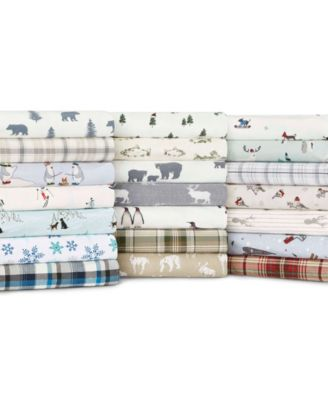 Twin Plaid Flannel Sheet Set