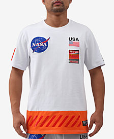 Hudson NYC Mens Space Suite Graphic T-Shirt