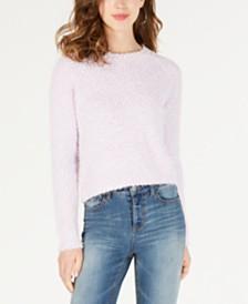 Freshman By RDG Juniors' Fuzzy Pullover Sweater