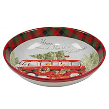 Certified International Home for Christmas Serving/Pasta Bowl
