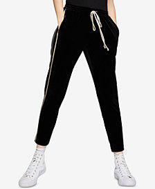 BCBGeneration Piped Drawstring Pants