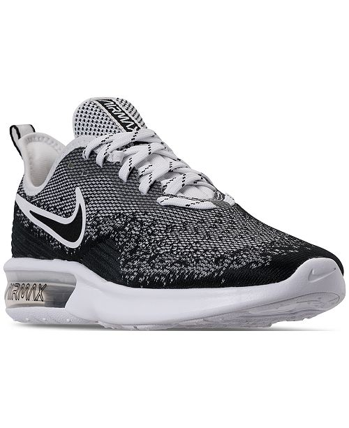 762359d1bae Nike Men s Air Max Sequent 4 Running Sneakers from Finish Line ...