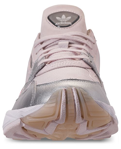 low priced 5d4eb e7aa5 ... adidas Womens Originals Falcon Suede Casual Sneakers from Finish ...