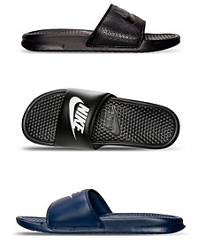 Men's Benassi JDI Slide Sandals from Finish Line