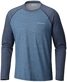 Columbia Men's Big & Tall Logo Raglan Shirt