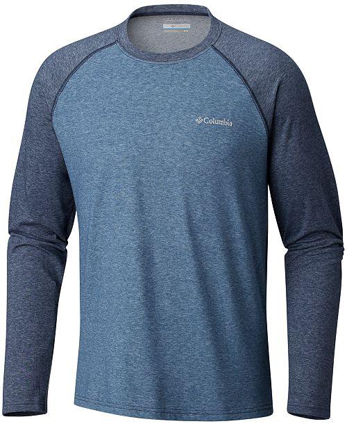 Columbia Men's Big & Tall Logo Raglan Shirt